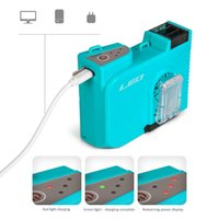 Electric Fans Mini Portable Fan Waist Clip USB Rechargeable Air Conditioner 2200Mah For Outdoor Working Camping Fishing Cooler