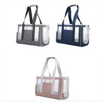 Breathable Cat Carrier Bag Pet Mesh Handbag Crossbody Shoulder For Small Dog 85LA Carriers,Crates & Houses