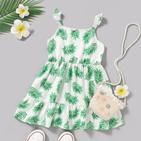 Good Quality Factory Price Fashion Selling Children's Clear Sleeveless Suspender Princess Dress Girl's Dresses