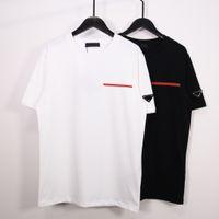 2020 Mujeres diseñador Tshirt TREND CLÁSICO EUROPEO Y Americano Americano Popular Tela de algodón Impresión Cómoda y transpirable Pareja Camisetas