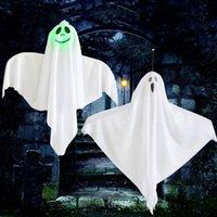 Хэллоуин призрак свинцовые украшения маскарада партия угрожающие реквизиты страшно белые маленькие висит призрак подвеска садовые украшения сцена макета