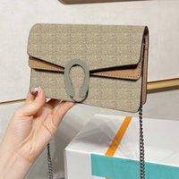 Marca de luxo 3a Qualidade de moda cadeia de ombro designer clássico bacchus grande 25cm pequeno 18cm