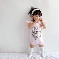 طفل الفتيات رومبير حللا تكدرت الدانتيل أمي إلكتروني السروال القصير + الوردي bowknot عقال أغطية الرأس الدعاوى الصيف الاطفال قطعة واحدة الملابس 235 k2