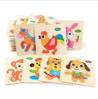 Baby 1-3 years old Wooden Jigsaw Toy Custom printing jigsaw puzzleVH9B