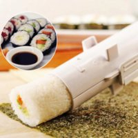 Quick Sushi Maker Roller Rice Mold Bazooka Vegetable Meat Rolling Tool DIY Sushi Making Machine Kitchen Gadgets