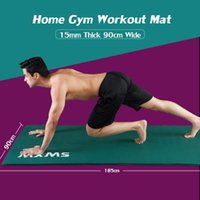 Yoga Mats XL Exercise Mat 185 X 90CM, Soft NBR 15MM Extra Thick & Wide Non-Slip For Home Gym Pilates HIIT Workout Fitness
