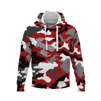 Men's Hoodies & Sweatshirts Autumn Winter Latest High Quality Fashion Camouflage Sweatshirt Unisex Camo Hoody Hip Hop Mens 3D Clothing US EU