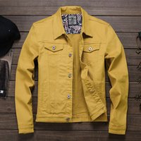 winter loose jeans jacket fashion trendy Korean plus Size coat for men high quality mens clothing jackets