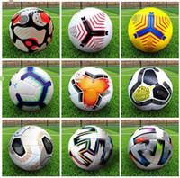 21 22 Top quality Club League La Liga Soccer ball 2021 2022 size: 5 balls European champion granules slip-resistant football (Ship the without air)