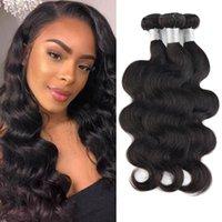 Body Wave Brazilian Peruvian Malaysian Indian Human Hair Weaves Weft Unprocessed Remy Virgin Raw Same Direction Cuticle 3 or 4 Bundles
