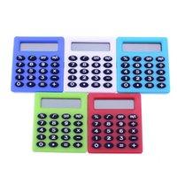 Süße Studententasche 8 Digital Mini Elektronischer Rechner Candy 5 Farben Berechnung Münzbatterien Bürobedarf Geschenk