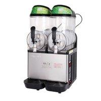 Machine de fusion de la neige machine de boisson froide grande capacité 12L x2 maillots de boue boue