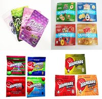Runtz Gummies Mylar Bag 500mg ETHER Childproof Edibles Zipper Packaging Pouch Retail Storage AIRHEADS JUMBO SNAX Package smellproof bags