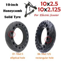Inch Electric Skateboard Tire Honeycomb Solid Tyre 10x2.5 For Scooter 10x2.125 Non-inflatable Motorcycle Wheels & Tires