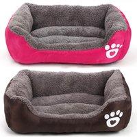 البصمة الحيوانات الأليفة السرير بيوتين رشاقته لينة تنفس الكلب جرو القط هريرة الصوف الخريف الشتاء حماسة wll517