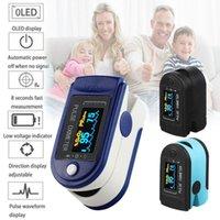 Fingertip Pulse Oximetro OLED Display OLED Blood Oxygen Sensor Saturazione SPO2 Misuratore Misuratore Misuratore portatile