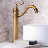 Bathroom Sink Faucets Royal Style Antique Faucet Basin Mixer And Cold Swivel With Ceramic Deck Mounted Vanity Torneira Para Banheiro