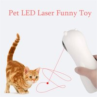 Cat Toys Automatic Interactive Smart Teasing Pet LED Laser Funny Handheld Mode Electronic For All Cats