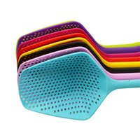 Strainer Scoop Plastic Spoon Large Colander Soup Filter Pasta Heat Resistant Strainer Fashion Cooking Vegetable Kitchen Tools T500832