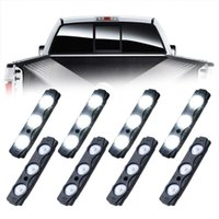 Atmosphere Light Led Kit Striscia Mini Bed Bed Tronco Bianco Cargo Bianco Carico impermeabile per auto Interni Pickup Lights T1G8 Emergenza
