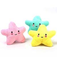 3 Renk Sevimli Denizyıldızı Bebek Çocuk ve Yetişkinler Için PP Pamuk Malzeme Dekompresyon Peluş Oyuncaklar