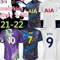 Größe: S-4XL Männer + Kinder 21 22 Kane Sohn Bergwijn NDOMBLEE Fussball Trikots 2021 2022 Lucas Dele Tottenham Jersey Fußball Kit Hemd Lo Celso Bale