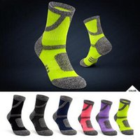 Men's Socks Brand Outdoor Hiking For Men Women Thickened Winter Thermal Sports Moisture Absorption Climbing Skiing Anti-Slip