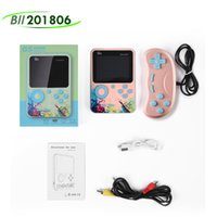 Doubles Players Gaming G5 Mini Retro Video Game Console Handheld Portable 3.0 inch Classic Pocket Built-in 500 Games Macaron