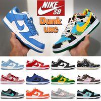 UNC Costa Dunk Dunks Basquetebol Sapatos Chunky Dunky Branco Preto Cacto Rua Hawker Universidade Red Kentucky Páscoa Baixo Homens Mulheres Sneakers