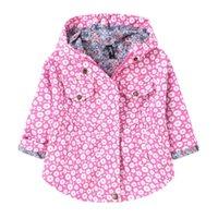 2021 Nuovo autunno cappotti Ragazze Giacche per bambini Capispalla Neonata Cappotto Cappotto a maniche lunghe Giacche per bambini Abbigliamento con cappuccio