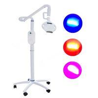 고품질 LED 치아 화이트닝 3 색 조명 시스템 악기 기계 구강 뷰티 살롱 장비