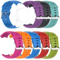 Watch Bands EiEuuk Accessory Soft Silicone Gel Replacement Watchband Wrist Strap Bracelet For Garmin Approach S3 GPS Golf