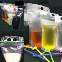 250ml, 750 ml, 1000 ml de plastique Clair de boisson claire Pochette sac à boisson pour boissons Jus de lait Café de lait OK YAS 239 V2