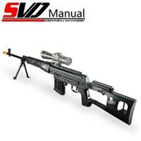 Barn Ual Toy Gun Svd Water Gel Blaster Paintball Airsoft Värme Rifle Guns Shotgun Pistol Silah Armas för pojkar Vuxna CS GO