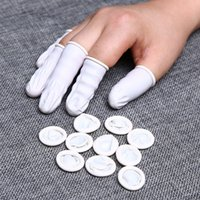 Durable Natural Latex Anti-Static Finger Cots Other Tattoo Supplies 500g set Non-slip Protector Gloves Disposable Fingertips Cover Beauty Manicure Tool
