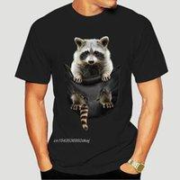 Men's T-Shirts Little Raccoon In Pocket T-Shirt 1031A