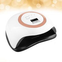 Nail Dryers 42 LED 168W Sensing Dryer Polish Curing UV Lamp Drying Timer Manicure Tools Machine LCD