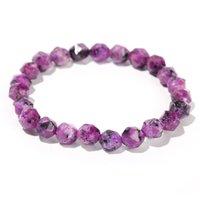 Irregular Natural Energy Stone Beaded Strands Charm Bracelets For Men Women Party Club Fashion Yoga Jewelry