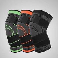 Coupeaux à genoux Elbow Bandage élastique Support sous pression Protecteur Fitness Running Arthrite Muscle Joint Brace Pad respirant