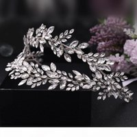 TRiXY H304 Bride Crowns and Tiaras Rhinestone Bridal Headpiece Forehead Wedding Headband Bride Hair Tiaras Wedding Hair Headband