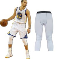 2021 Pantalon stretch Secure-séchage exercice serré Fitness Pantalon Homme Basketball Run Formation Compression Compression Pantalon cultivé serré