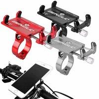 Supporto per cellulare per biciclette in lega di alluminio auto per iPhone Xiaomi Bike Manubrio GPS GPS Staffa per moto Bicyclecy Bicycle