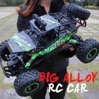 ZWN 1:12 / 1:16 / 1:20 4WD RC Car 2.4G радиоуправляемый автомобиль Car Buggy Offgy Road Пульт дистанционного управления Грузовики Мальчики игрушки для детей 210322