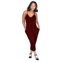 New Summer Bodycon Jumpsuits Fashion Sexy Spaghetti Strap Tight Leotard Suspenders Women Slim Casual Evening Party Rompers
