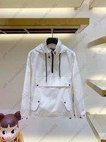 2021 Соединенные пары толстовка мужская куртка Франция прилив бренд пары буква печатать ветрозащитные куртки с капюшоном дизайнеры мужская одежда