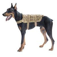 Taktik Hizmeti Köpek Yelek Yağları Eğitim Molle Koşum Askeri Taktikler Köpekler Eğitim Veşeler Demetleri Davarları ve İki Kolları