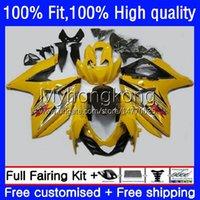 Injection For SUZUKI GSXR 1000CC 1000 CC 2009 2010 2011 2012 2013 2015 2016 Gloss yellow Body 28No.78 K9 GSXR-1000 GSX-R1000 09-16 GSXR1000 09 10 11 12 13 14 16 OEM Fairing