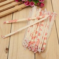 Packaging Dinner Service Chinese Disposable Bamboo Wood Chopsticks Sticks 18cm 40 Pairs Kitchen Gadgets