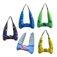 Seat Cushions Car Belts Kid Cushion Cartoons Protect Neck Safety Children Traveling Pillow In-Car Supplies
