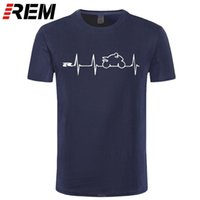 REM NIEUWE COOL T-shirt T-shirt Japan Motorfietsen Heartbeat GSXR 1000 750 600 K7 210322